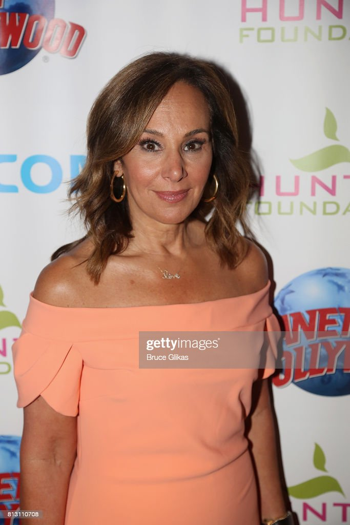 Rosanna Scotto poses at a celebration for The Hunter Foundation Charity that helps fund programs for families and youth communities in need of help and guidance at Planet Hollywood Times Square on July 11, 2017 in New York City.