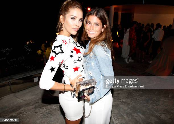 Rosanna Zanetti and Coral Simanovich attend the presentation of the new Emporio Armani's fragances 'Stronger with you' and 'Because it's you' on...