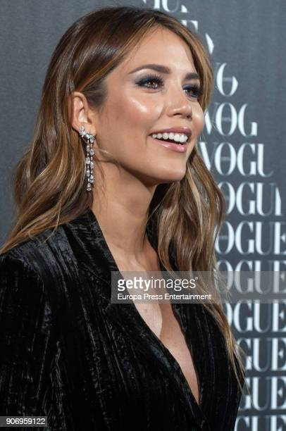 Rosanna Zanetti attends the homage dinner to Victoria Beckham hosted by Vogue Magazine at Santo Mauro hotel on January 18 2018 in Madrid Spain