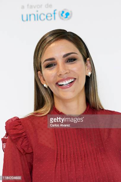 Rosanna Zanetti attends UNICEF and El Corte Ingles charity event on October 29 2019 in Madrid Spain