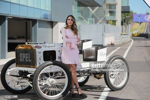 Rosanna ZAnetti celebrates the Opel 120 Years of Automobiles on May 30 2019 in Madrid Spain