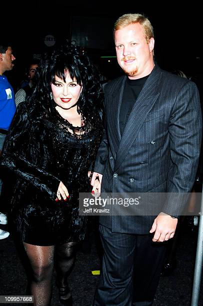 Rosanne Barr and Ben Thomas during 1994 MTV Video Music Awards at Radio City Music Hall in New York City New York United States