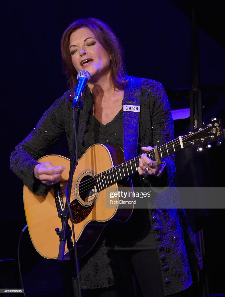 Rosanne Cash Performs With Special Guest John Leventhal During Her Final Artist-in-Residence Show At The Country Music Hall Of Fame And Museum
