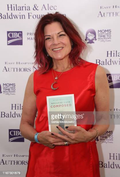 Rosanne Cash at the East Hampton Library's 15th Annual Authors Night Benefit on August 10 2019 in Amagansett New York