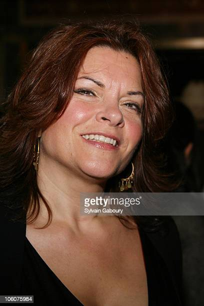 Rosanne Cash during 'Ring of Fire' Broadway opening night arrivals at Ethel Barrymore Theater in New York New York United States