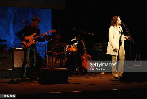 Rosanne Cash during Roseanne Cash in Concert at The State Theatre in Sydney January 4 2007 at State Theatre in Sydney New South Wales Australia