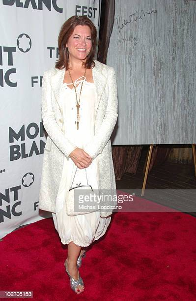 Rosanne Cash during The Montblanc De La Culture Awards at Angel Orensanz Foundation Center for the Arts in New York City New York United States
