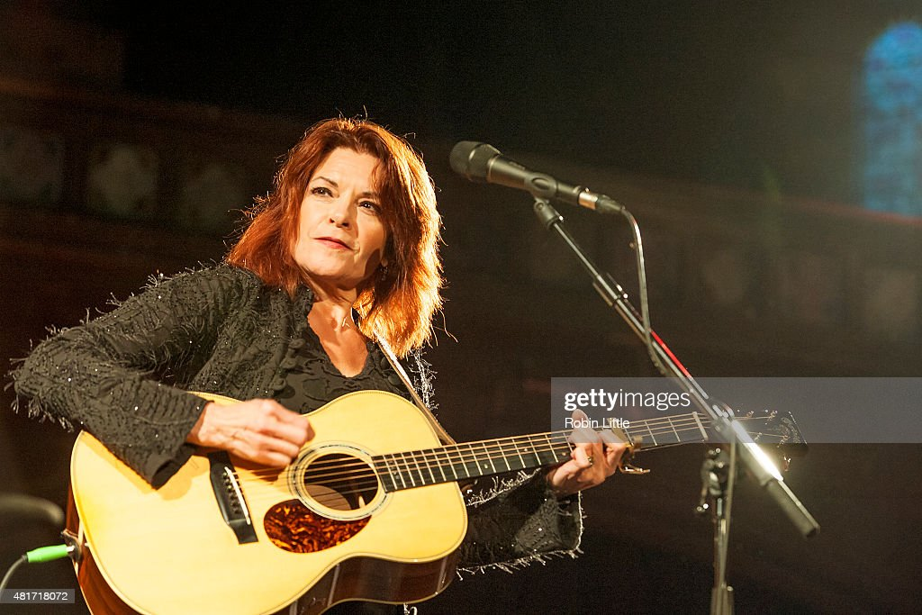 Rosanne Cash Performs At The Union Chapel In London