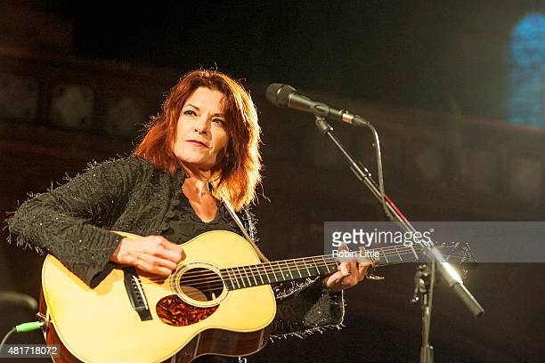 Rosanne Cash performs at the Union Chapel on July 23 2015 in London United Kingdom