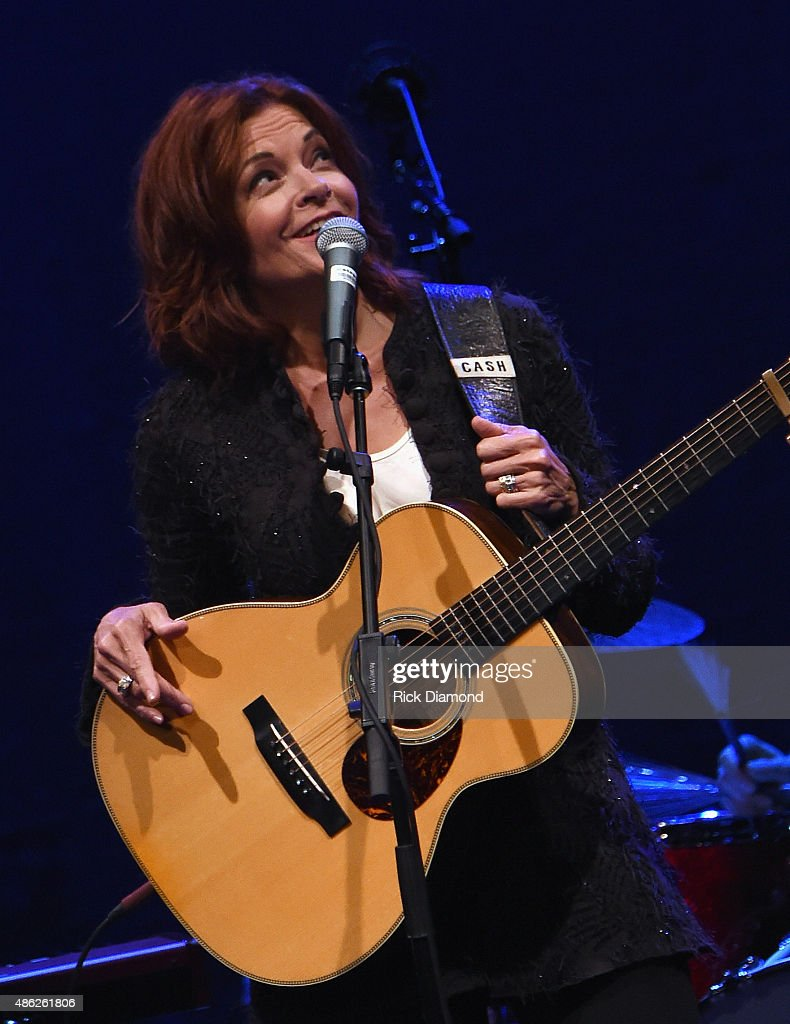 Rosanne Cash Performs 'The River And The Thread' During Her First Artist-in-Residence Show At The Country Music Hall of Fame and Museum