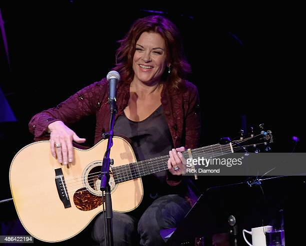 Rosanne Cash Performs With Special Guests Emmylou Harris And Lucinda Williams During Her Second ArtistinResidence Show At The Country Music Hall Of...