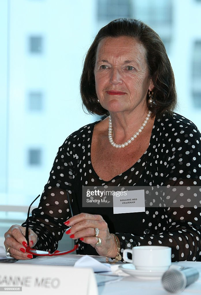 Rosanne Meo, Chairwoman of the Brisco Group attends the Annual General Meeting on May 20, 2010 in Auckland, New Zealand. The Brisco Group includes Briscoes Homeware, Living & Giving, Urban Loft and Rebel Sport.