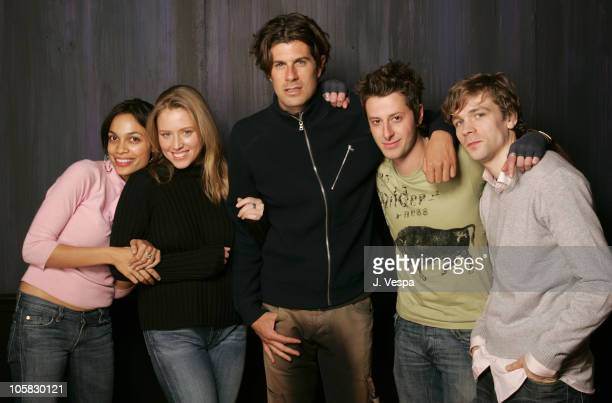 Rosario Dawson Amy Redford Stephen Marshall Nathan Crooker and Brendan Sexton III
