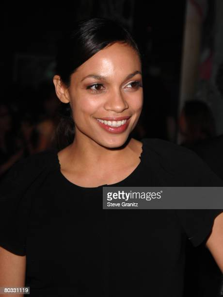 Rosario Dawson arrives at the Prada Presents Trembled Blossoms LA on March 19 2008 at Prada Beverly Hills Epicenter in Beverly Hills California