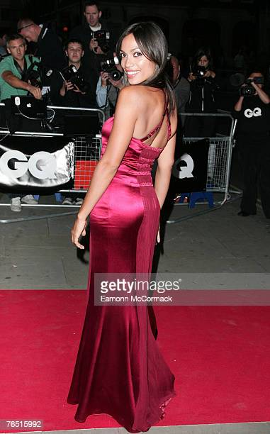 Rosario Dawson arrives for the 'GQ Men of the Year Awards 10th Anniversary' on September 4 2007 at the Royal Opera House in London England