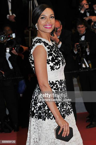 Rosario Dawson at 'The Captive' premiere during the 67th Cannes Film Festival