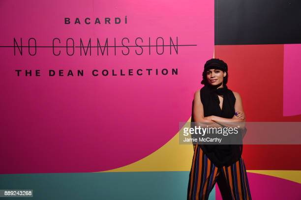 Rosario Dawson attends BACARDI Swizz Beatz and The Dean Collection bring NO COMMISSION back to Miami to celebrate 'Island Might' at Soho Studios on...