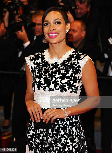 Rosario Dawson attends Captives Premiere at the 67th Annual Cannes Film Festival on May 16 2014 in Cannes France