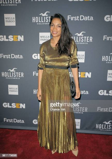 Rosario Dawson attends GLSEN 2018 Respect Awards at Cipriani 42nd Street on May 21 2018 in New York City