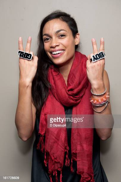 Rosario Dawson attends One Billion Rising's RISE NYC at Hammerstein Ballroom on February 14 2013 in New York City
