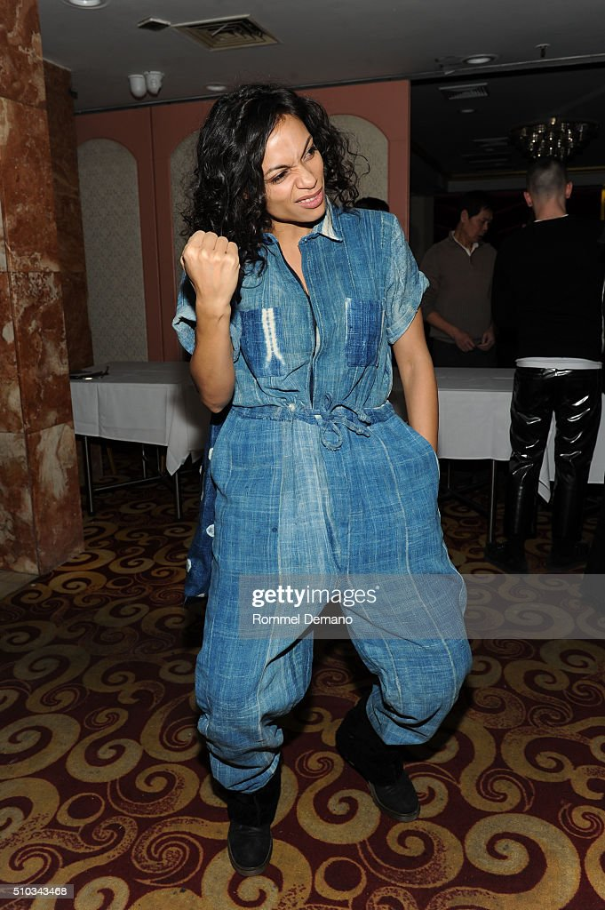 Rosario Dawson attends Opening Ceremony After Party at 88 Palace on February 14, 2016 in New York City.