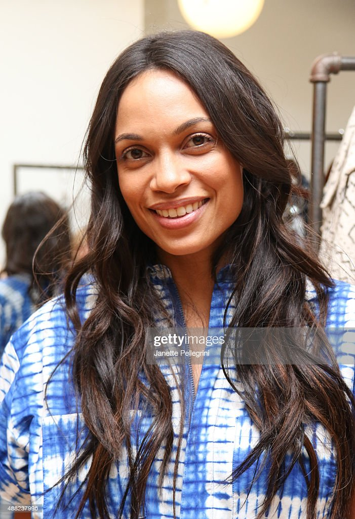 Rosario Dawson attends Studio 189 Presentation at Spring 2016 New York Fashion Week:The Shows on September 14, 2015 in New York City.