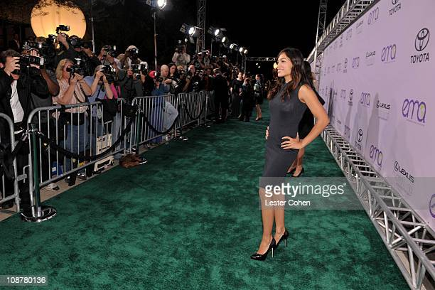 Rosario Dawson attends the 18th annual Environmental Media awards at the Ebell Theatre on November 12 2008 in Los Angeles California