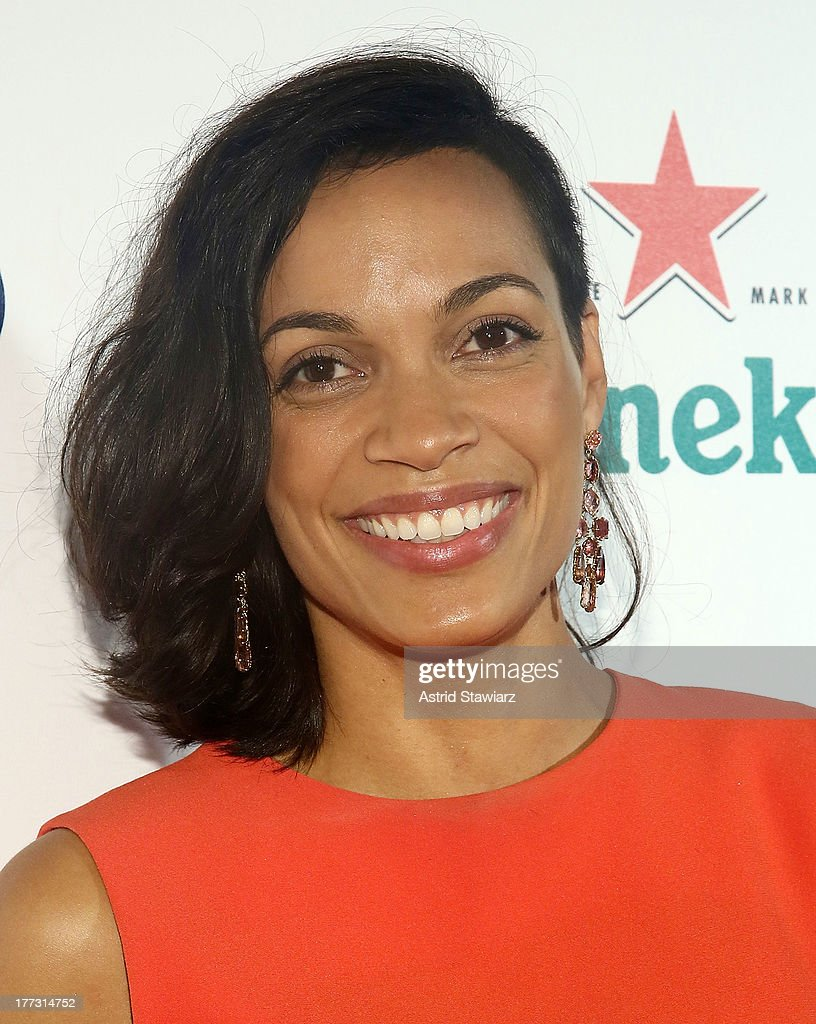 Rosario Dawson attends the 2013 US Open Kick-Off Party at PH-D Rooftop Lounge at Dream Downtown on August 22, 2013 in New York City.