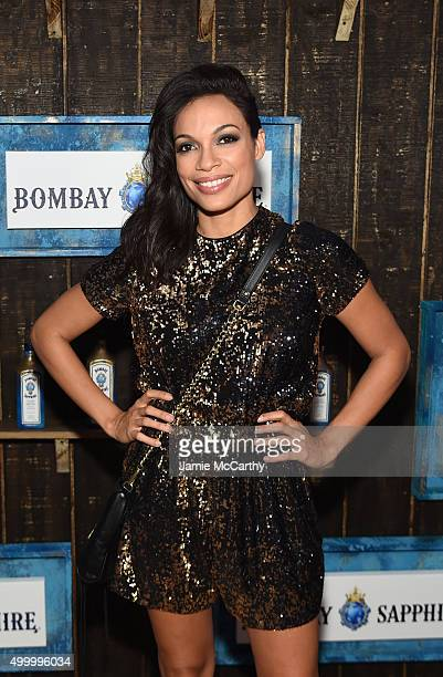 Rosario Dawson attends The 6th Annual Bombay Sapphire Artisan Series Grand Finale Cohosted By Russell Simmons And Rosario Dawson During Art Basel at...