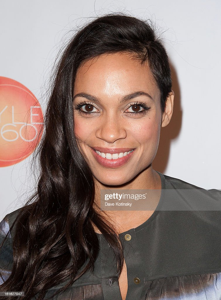 Rosario Dawson attends the Boy Meets Girl By Stacy Igel 2013 Style360 Fashion Show at Style360 on February 13, 2013 in New York City.