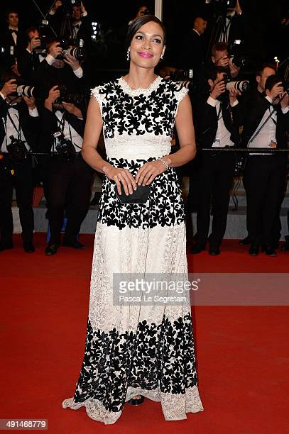 Rosario Dawson attends the Captives premiere during the 67th Annual Cannes Film Festival on May 16 2014 in Cannes France