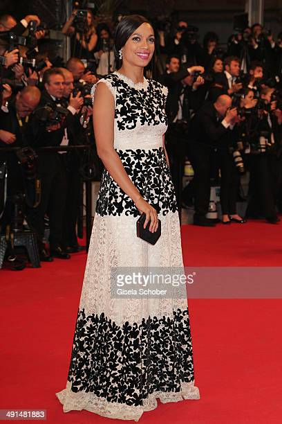 """Rosario Dawson attends the """"Captives"""" premiere during the 67th Annual Cannes Film Festival on May 16, 2014 in Cannes, France."""
