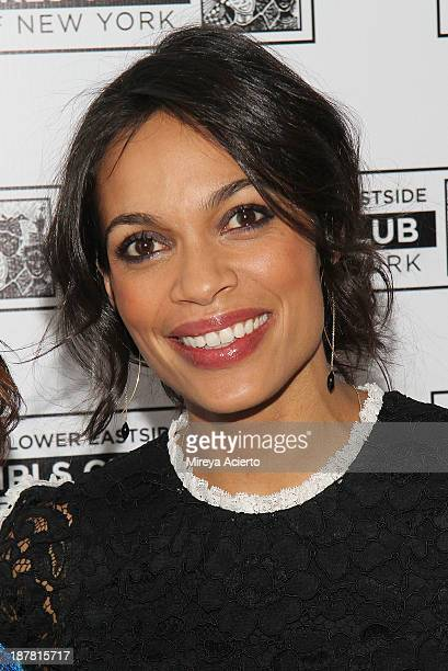 Rosario Dawson attends the Lower East Side Girls Club Grand Opening Gala on November 12 2013 in New York City