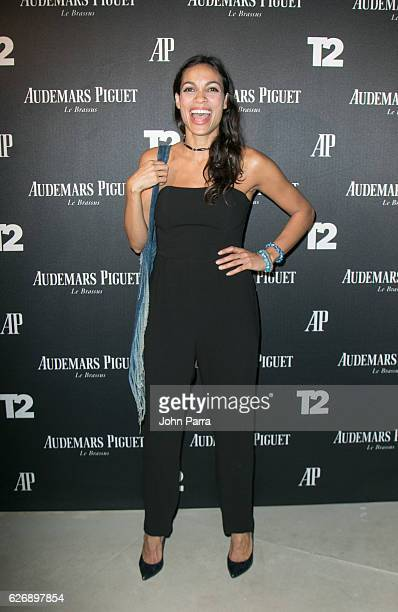 Rosario Dawson attends the Miami Beach Kickoff Party at Audemars Piguet Art Commission 'Reconstruction Of The Universe' by Sun Xun hosted by TakeTwo...