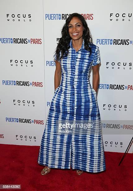 Rosario Dawson attends the New York Screening of 'Puerto Ricans In Paris' at Landmark's Sunshine Cinema on June 6 2016 in New York City
