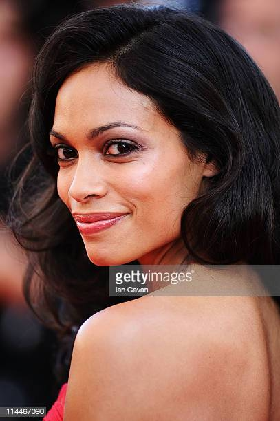 Rosario Dawson attends the 'This Must Be The Place' premiere during the 64th Annual Cannes Film Festival at Palais des Festivals on May 20 2011 in...