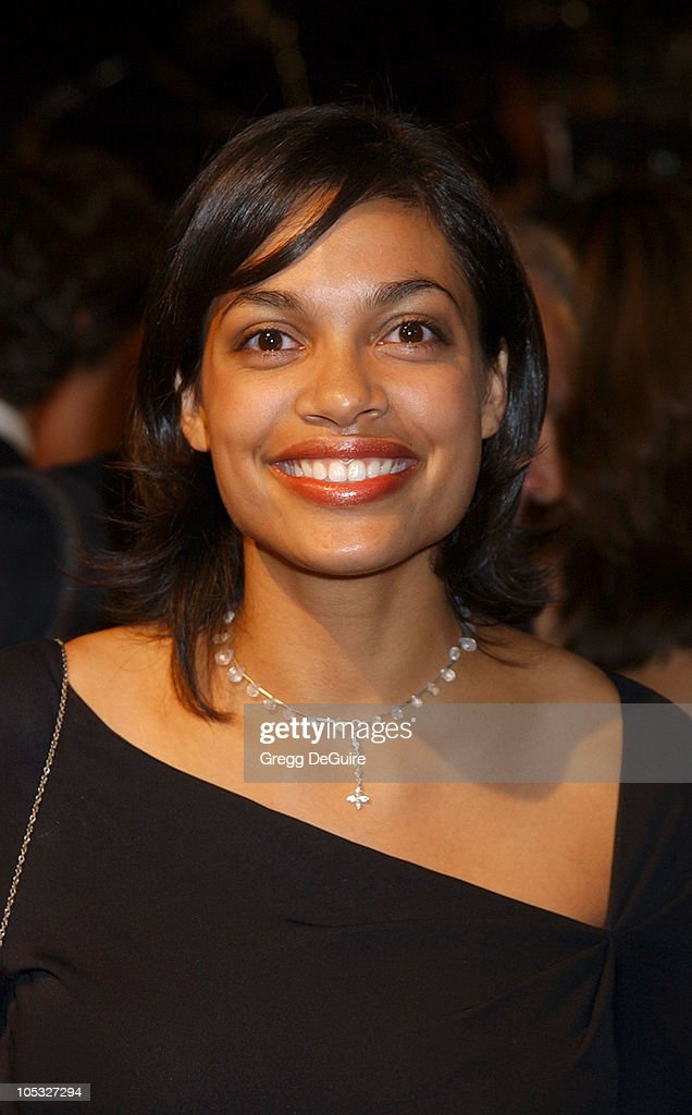 Rosario Dawson during 2002 Vanity Fair Oscar Party Hosted by Graydon Carter - Arrivals at Morton's Restaurant in Beverly Hills, California, United States.