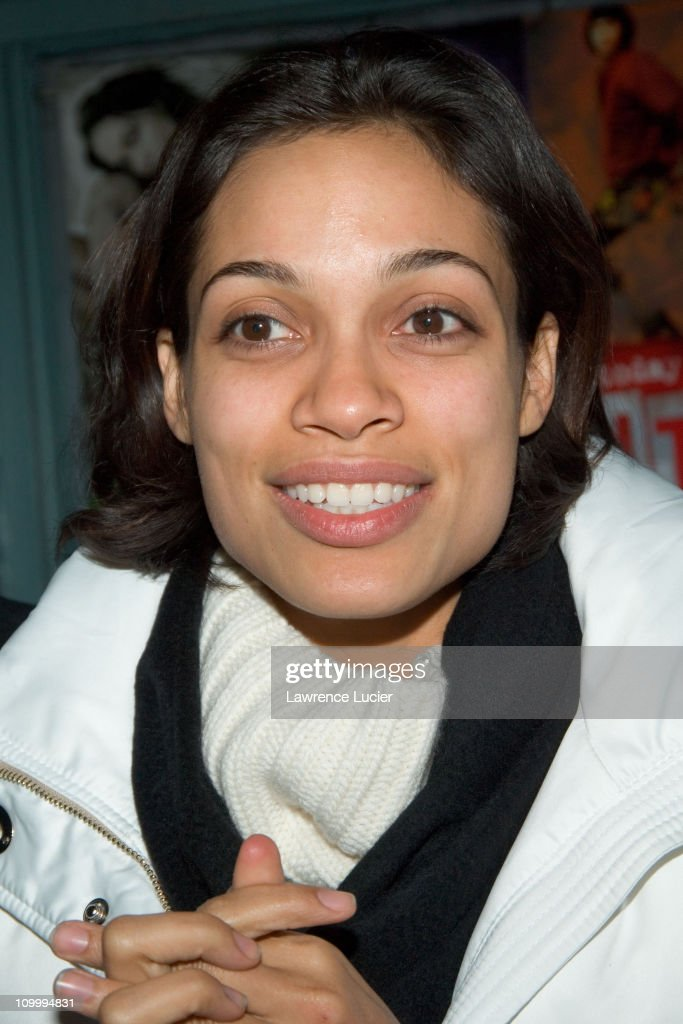 Rosario Dawson during Rent New York City Premiere - Cast and Crew Party at Life Cafe in New York City, New York, United States.