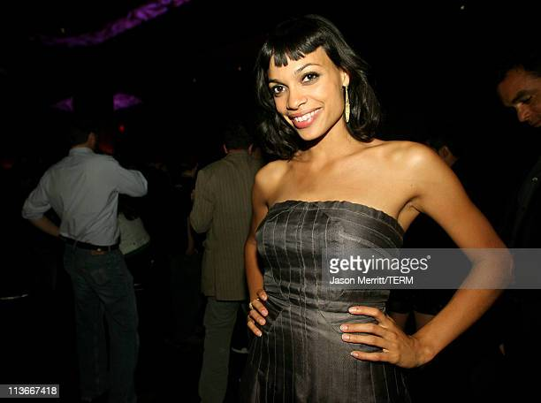 Rosario Dawson during Spike TV's Scream Awards 2006 After Party at Pantages Theater in Hollywood California United States