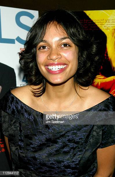 Rosario Dawson during The New York Premiere Of Ethan Hawke's Directorial Debut 'Chelsea Walls' at Clearview's Chelsea West in New York City New York...