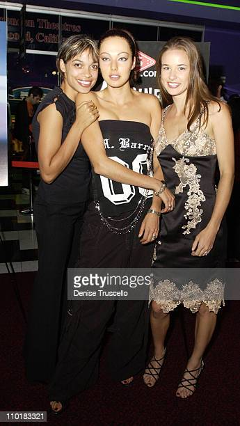 Rosario Dawson Juliette Marquis Cheyenne Silver during CineVegas Film Festival 2003 Screening Of This Girls Life at The Palms Casino resort in Las...
