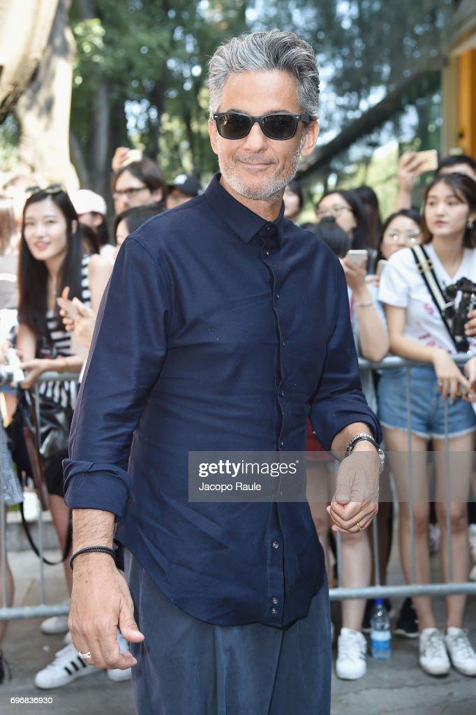 Emporio Armani - Arrivals - Milan Men's Fashion Week Spring/Summer 2018