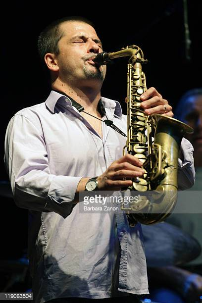 Rosario Giuliani performs on stage at Teatro Pavone during Umbria Jazz Festival on July 14 2011 in Perugia Italy