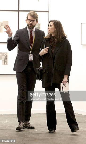 Rosario Nadal attend the International Contemporary Art Fair ARCO 2016 at Ifema on February 24 2016 in Madrid Spain