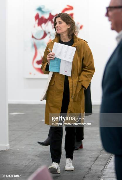 Rosario Nadal attends ARCO Art Fair 2020 at Ifema at Ifema on February 26 2020 in Madrid Spain