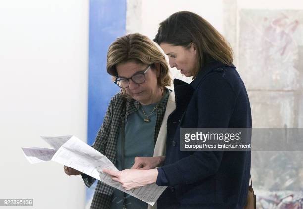 Rosario Nadal attends the International Contemporary Art Fair ARCO 2018 at Ifema on February 21 2018 in Madrid Spain