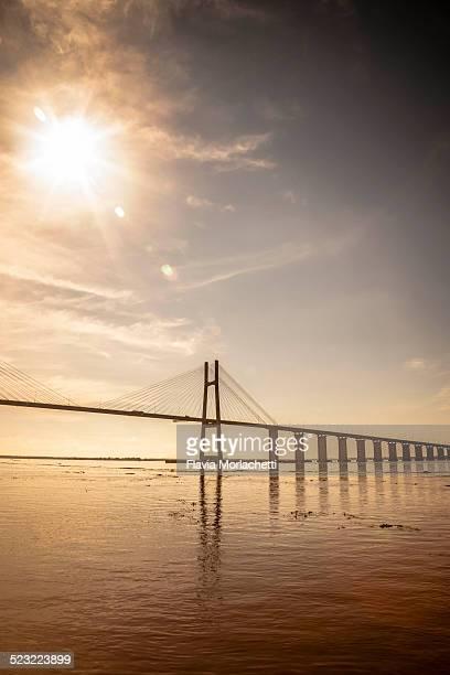 Rosario Victoria bridge