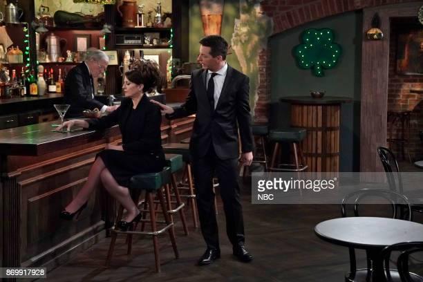 WILL GRACE 'Rosario's Quinceanera' Episode 107 Pictured Megan Mullally as Karen Walker Sean Hayes as Jack McFarland