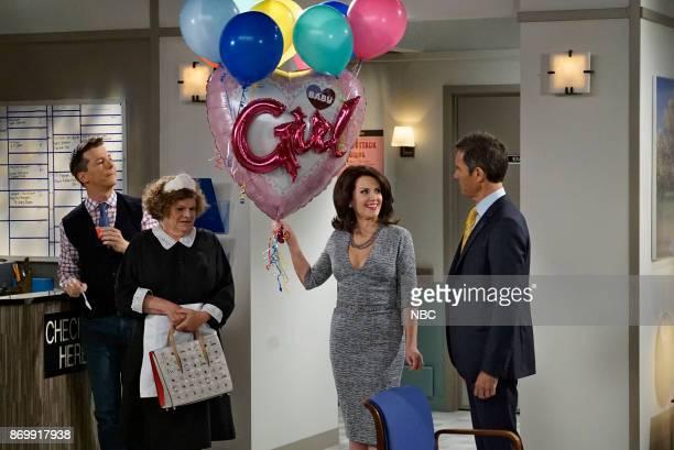 WILL GRACE 'Rosario's Quinceanera' Episode 107 Pictured Sean Hayes as Jack McFarland Mary Pat Gleason as Bridget Megan Mullally as Karen Walker Eric...