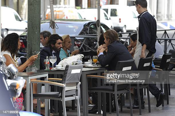 Rosauro Baro and Javier Hidalgo are seen on June 27 2012 in Madrid Spain
